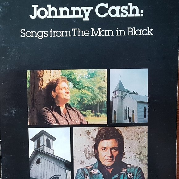 Johnny Cash songs From The Man In Black Music Book